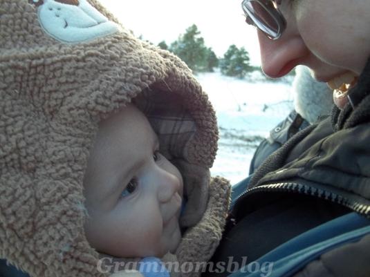 Baby Josh and Aunt Nellie